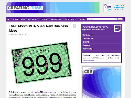 http://www.psfk.com/2009/02/the-6-month-mba-999-new-business-ideas.html