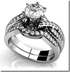 Anjolee Magnificent Journey Diamond Bridal Set