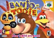 Banjo Tooie N64 - Capa