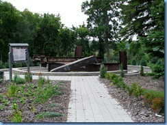 2403 North Dakota USA & Manitoba Canada - International Peace Garden - 911 Memorial