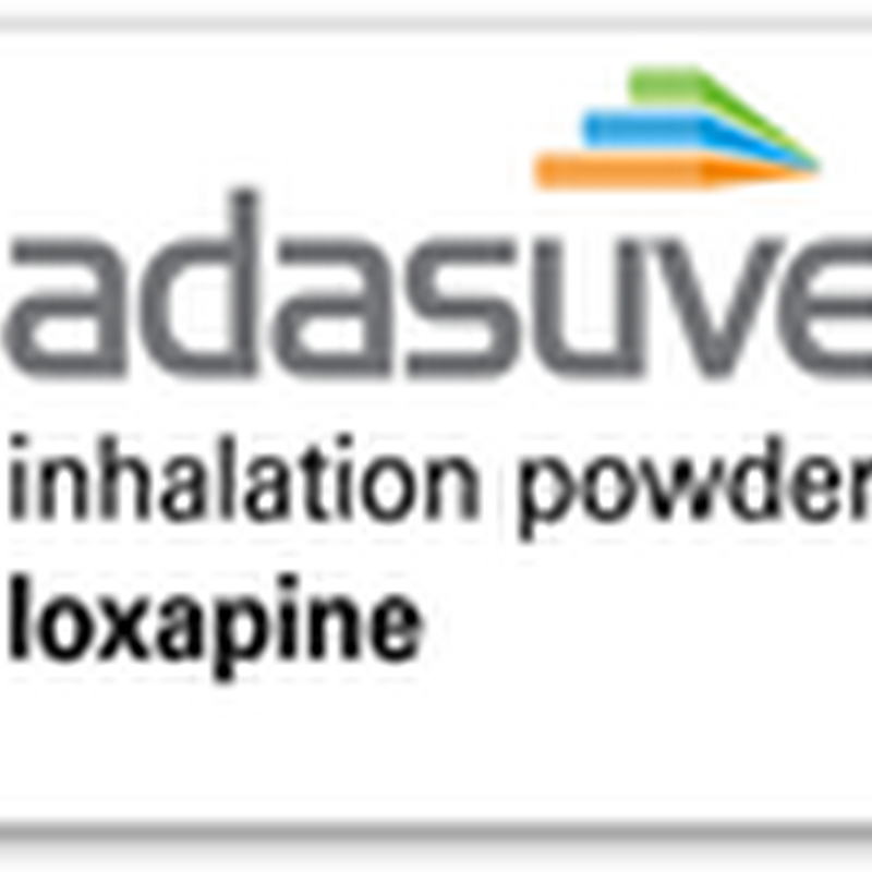 Inhaled Drug for Treating Schizophrenia and Bipolar Disorder Gets FDA Approval–Adasuve
