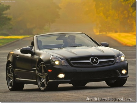 Mercedes-Benz SL550 Night Edition1