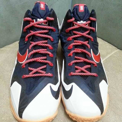 nike lebron 11 gr black white red mango 1 04 Possibly Upcoming New Nike LeBron 11 Mango