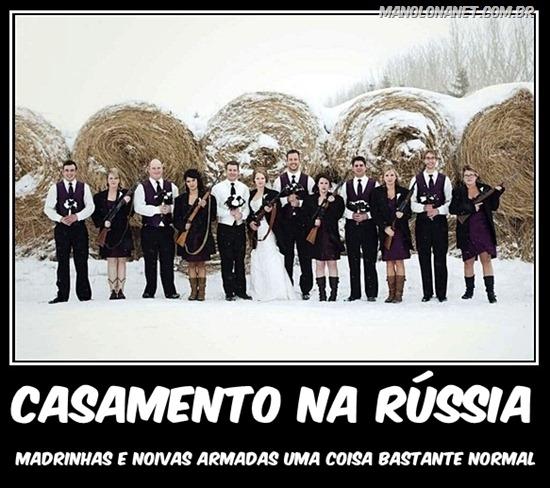 Como São os Casamentos na Russia