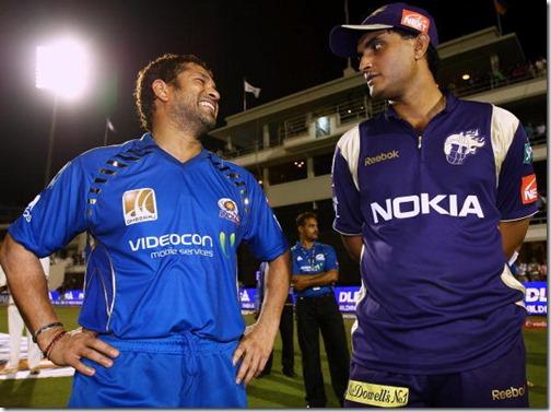 Ganguly supports Sachin