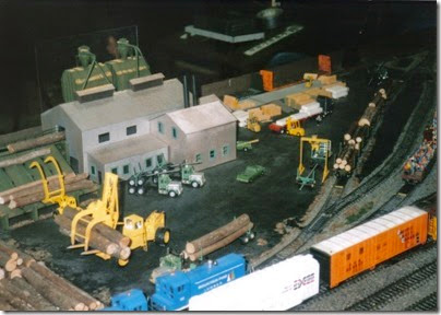 07 LK&R Layout at the Triangle Mall in February 1997