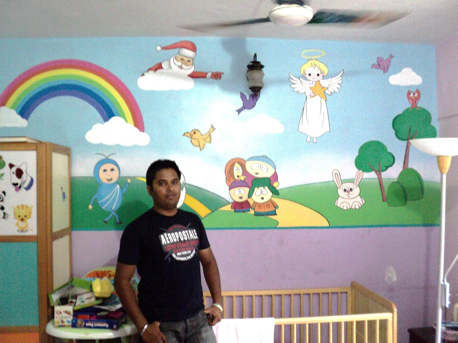 Play School Wall Painting Mumbai   Blogger Part 76