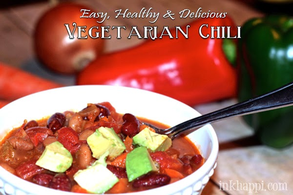 Easy Healthy Vegetarian Chili