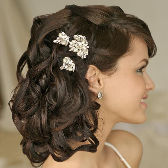 Modern Wedding Haircut 2013