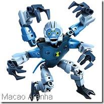 Lego Ben 10 Macaco Aranha Força Alienígena - Alien Force