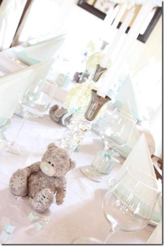 barnedåp inspirasjon baby gutt blå borddekking blomster IMG_2522