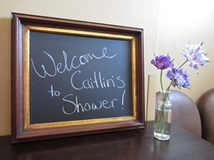 vintage inspired chalkboard sign from Ideas in Bloom