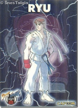 Ryu 1 - Card Street Fighter Zero 2