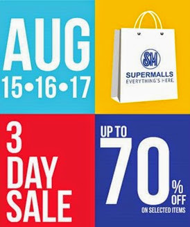 SM 3-day sale August 2014