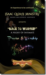 Back To Worship Program