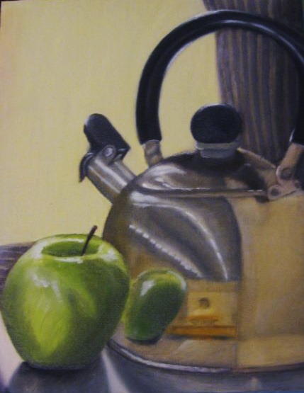 Brandy Manuel Kettle Still Life