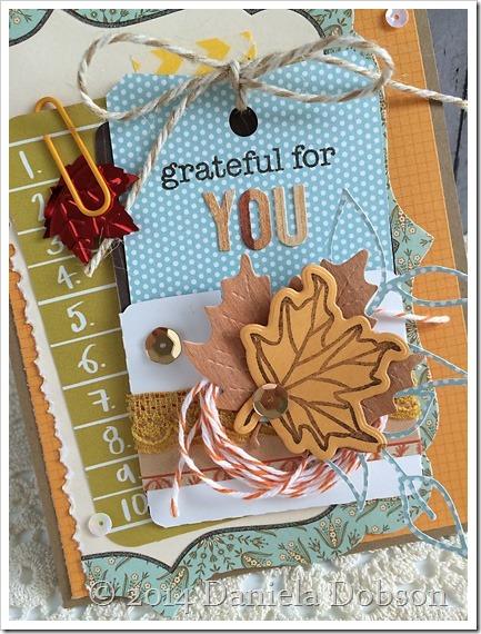 Grateful tag by Daniela Dobson