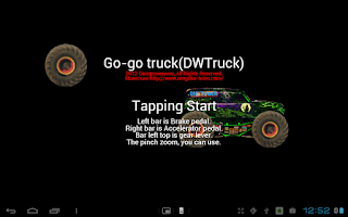 Screenshot of Go-go truck