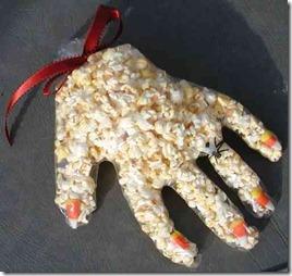popcorn hand