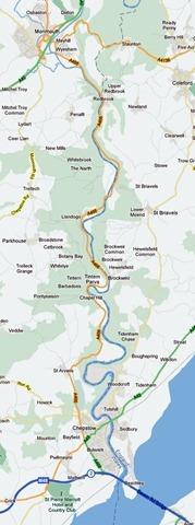 Offa's Dyke - Sedbury to Redbrook