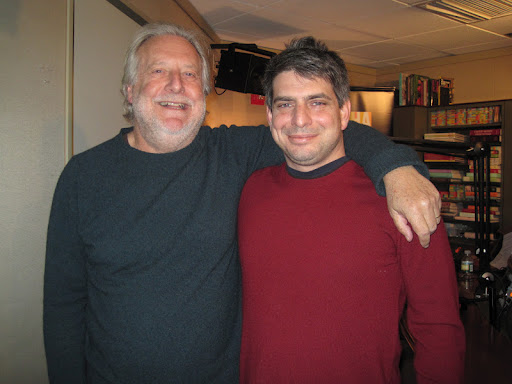 Jonathan Waxman with Chef Joey Campanaro