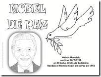 colorear premios nobel de la paz