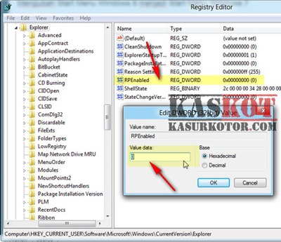 windows 8 registry editor