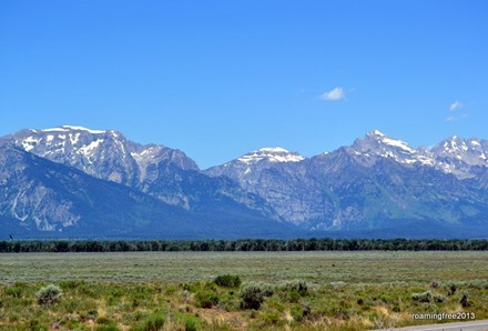 Our first look at the Tetons