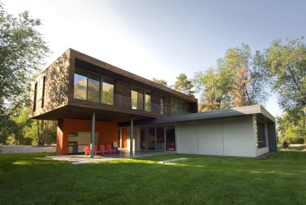 Casa de madera cedro