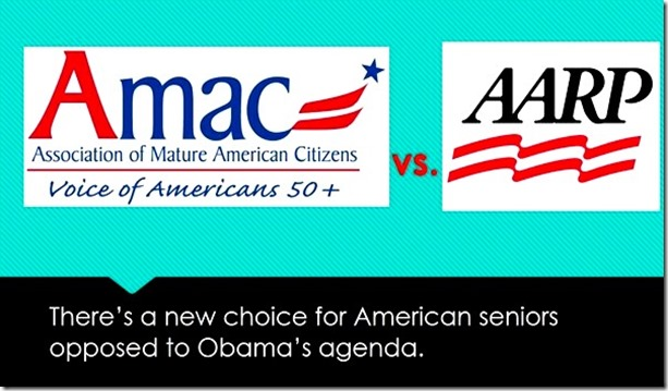 Amac Vs Aarp >> Slantright 2 0 Aarp Leftist Amac Conservative