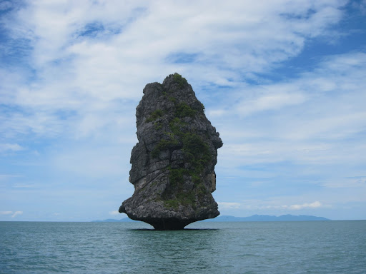 James Bond Island in Ang Thong Marine Park.