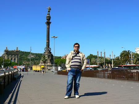 Statui Spania: monumentul lui Columb Barcelona