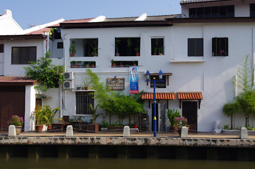 Our Guest House, overlooking the Melaka River.