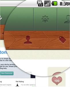 40 bonitas interfaces de usuario para aplicaciones Android