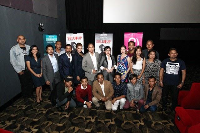 Astro Malaysia dan Mastermind Group Sdn Bhd bersama barisan pelakon drama siri SELUDUP