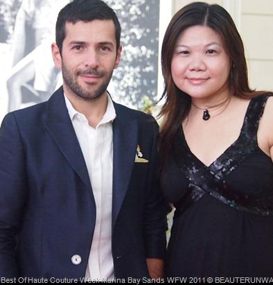 Alexis  Mabille Parisan Haute Courtier BeauteRunway Marina Bay Sands