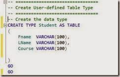 Student_Type_Definie