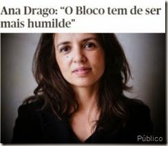 Ana Drago Bloco de Esquerda. Jun.2014