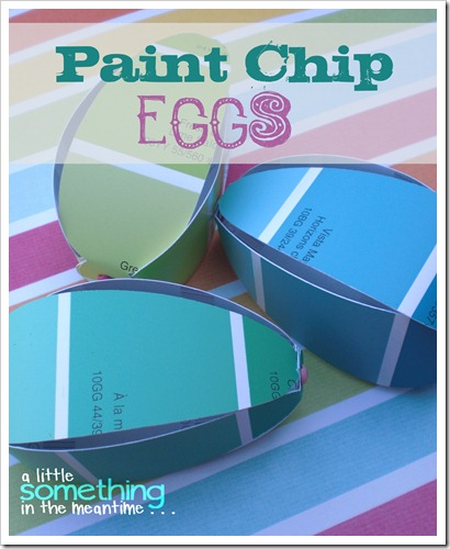 Paint Chip Eggs Project Gallery