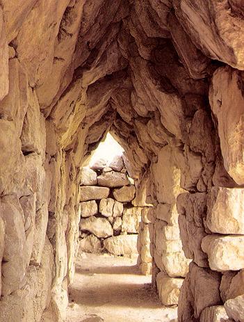 Las  fortificaciones, en la Edad de Bronce 09.-%252520Tirinto%252520-%252520Murallas