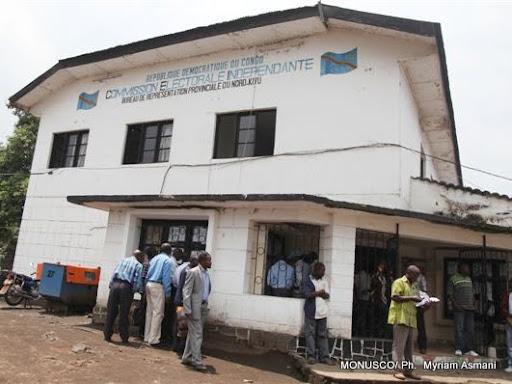 Une vue du bureau de représentation de la Ceni au Nord-Kivu. (Goma, RDC). MONUSCO/ Ph.  Myriam Asmani