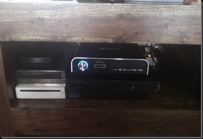Mi Xtreamer Black Prodigy con DVD, disco duro y las 2 consolas