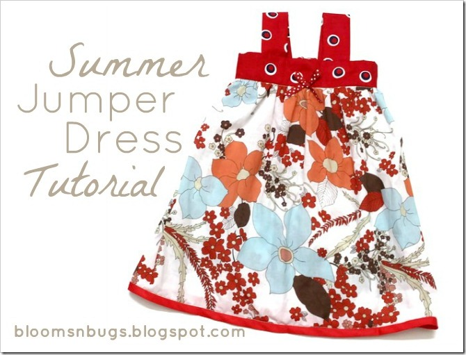 summer jumper dress tutorial