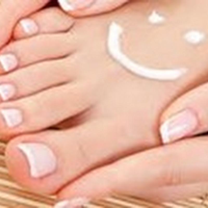 Receita caseira para hidratação dos pés ressecados