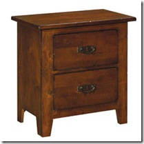 31-141 Stonewater nightstand for bedroom no 1 with twin bed