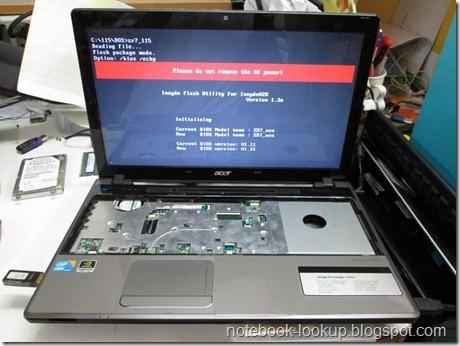บันทึกช่าง Acer Aspire 5745G Boot ช้ามาก เครื่องร้อน