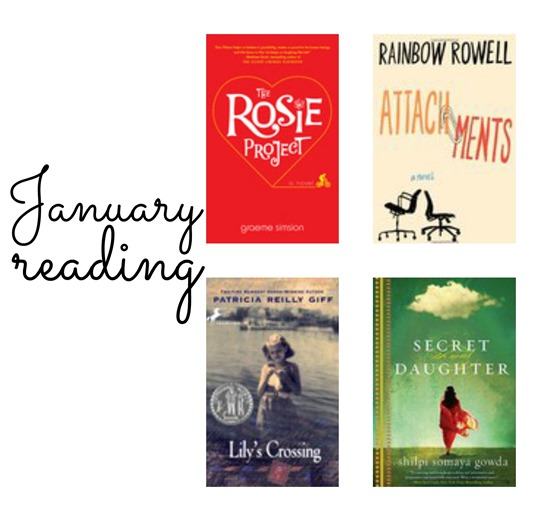 Books read in January 2014   www.maybematilda.com