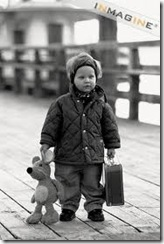 suitcase child