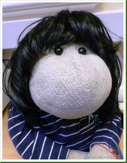Monkey in a wig 2