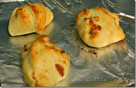 Our Little Casita: Recipe Review – Chicken Enchilada Pockets